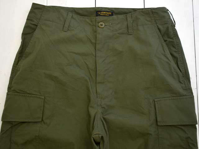 A VONTADE (アボンタージ) Jungle Fatigue Trousers (VTD-0454-PT) カーゴパンツ 軍パン