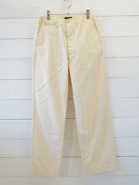 A VONTADE (アボンタージ) <br>Type 45 Chino Trousers - Wide Fit - natural (VTD-0340-PT) チノパン