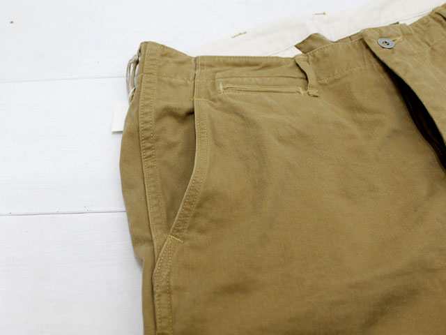 orslow SLIM FIT ARMY TROUSER PANTS