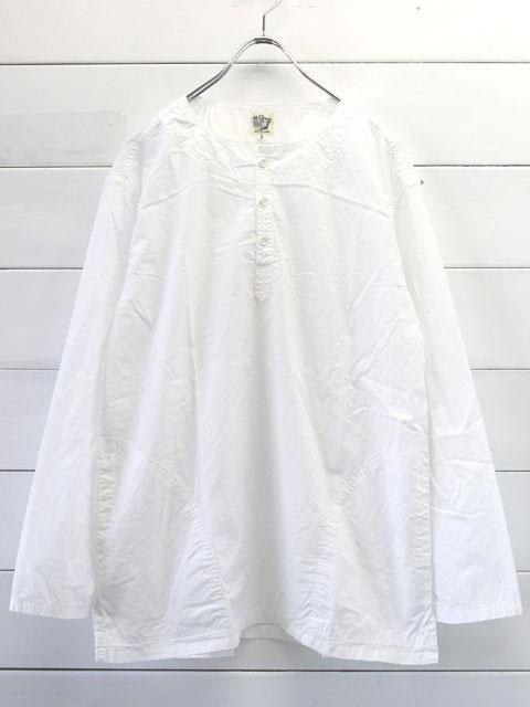 orslow オアスロウ PULLOVER SHIRTS / WHITE 03-8044-69