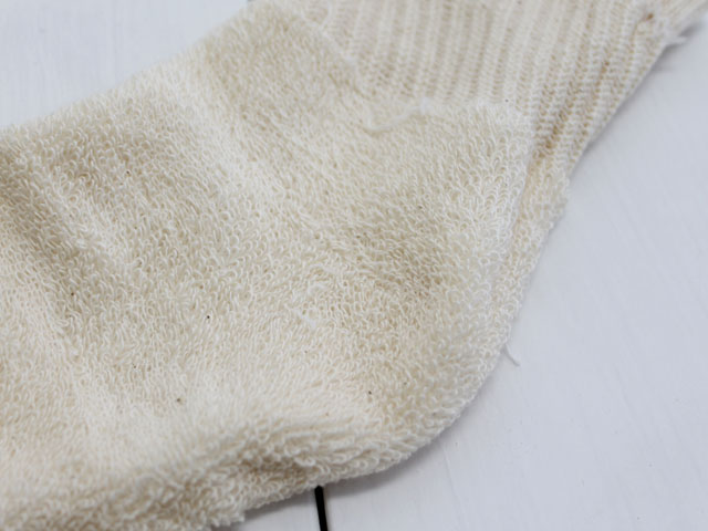 ORGANIC THREADS(オーガニックスレッド) Short Top Crew 3P Socks