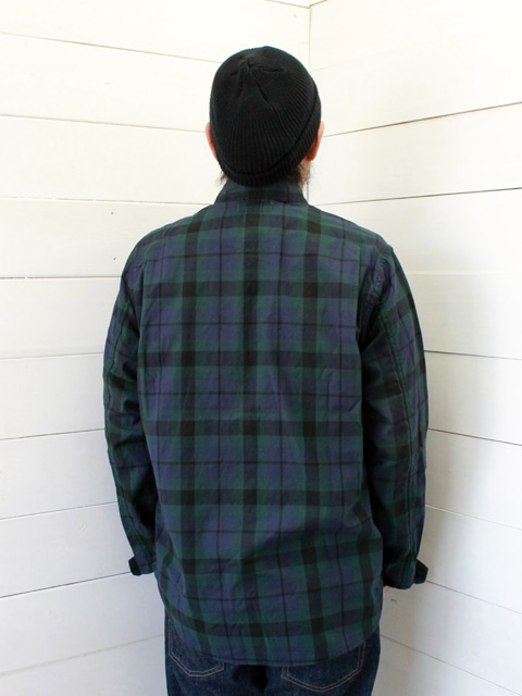 SASSAFRAS ササフラス PRUNER LEAF HALF OXFORD CHECK CHECK2 (SF-191437)