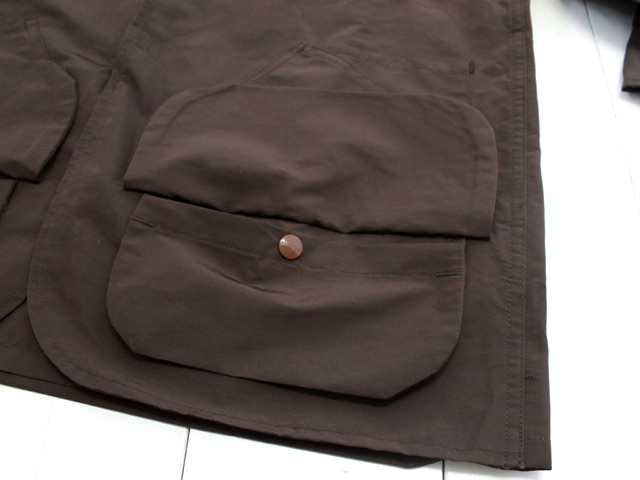 ササフラス LANDSCAPER JACKET 60/40 BROWN