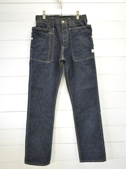 SASSAFRAS(ササフラス)<br>FALL LEAF PANTS 13.5oz DENIM / INDIGO  デニム
