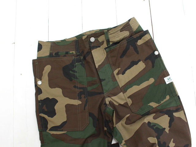 SASSAFRAS FALL LEAF SPRAYER PANTS ウッドランド カモ