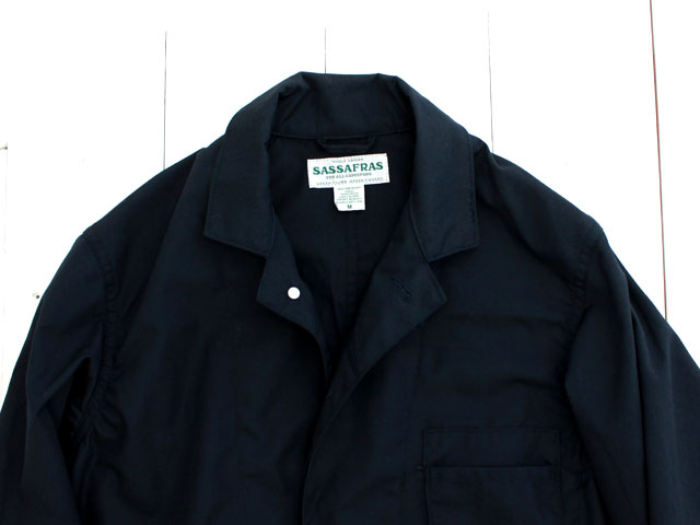 SASSAFRAS WHOLE LEAF COAT T/CWEATHER / NAVY SF-181291