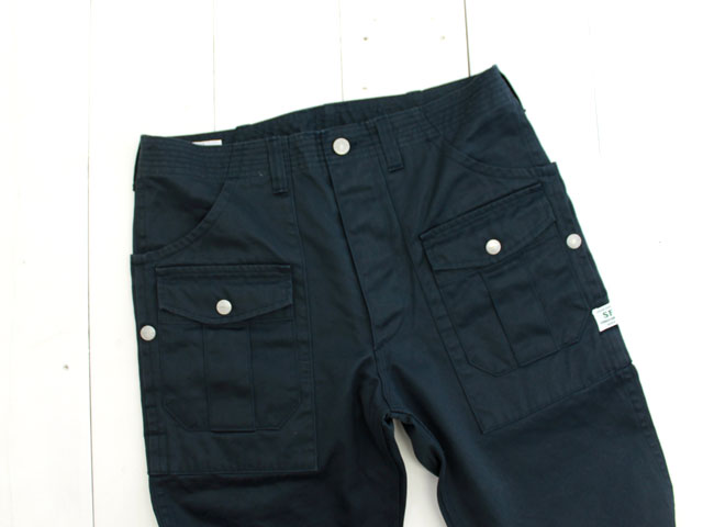 SASSAFRAS(ササフラス) BOTANICAL SCOUT PANTS WEST POINT / NAVY