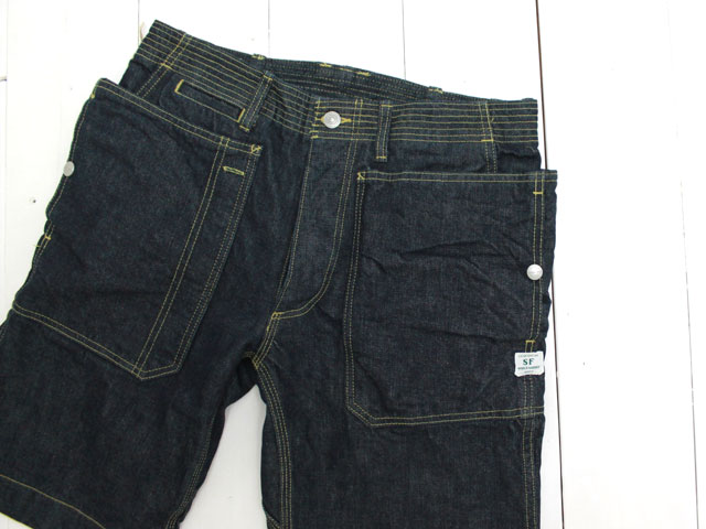 FALL LEAF SPRAYER PANTS 1/2 13.5oz DENIM / INDIGO