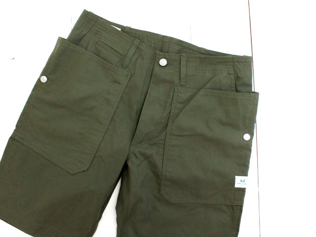 SASSAFRAS FALL LEAF SPRAYER PANTS 1/2 RIPSTOP / OLIVE (SF-181344)