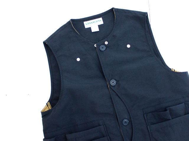 SASSAFRAS WHOLE HOLE VEST 60/40