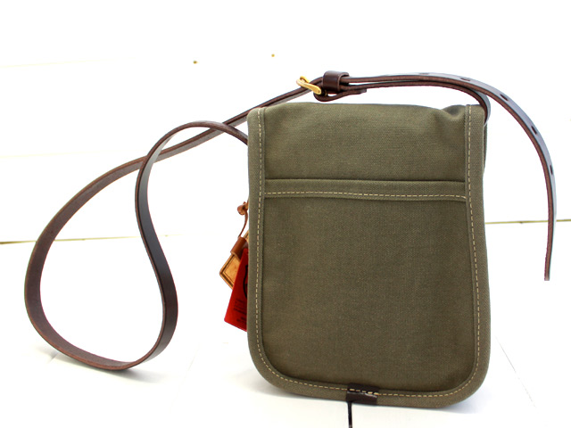 slow colors hunting shoulder bag S (49S115F)