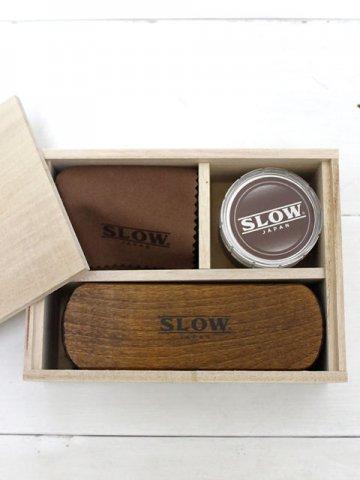 SLOW(スロウ) レザーメンテナンスキット (CS01C)