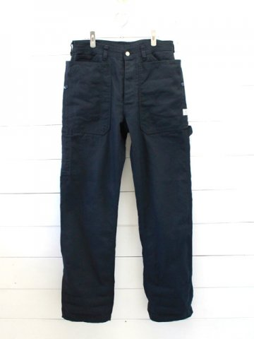 SASSAFRAS(ササフラス)<br> FALL LEAF GARDENER PANTS DUCK / NAVY (SF-191445)