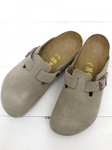 BIRKENSTOCK(ビルケンシュトック)<br>BOSTON SUEDE / TAUPE (060461)(060463)