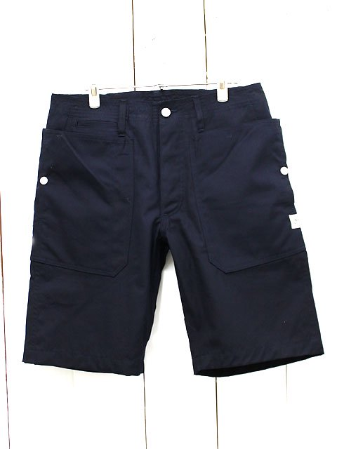 SASSAFRAS(ササフラス)FALL LEAF SPRAYER PANTS1/2 WEEDS POPLIN NAVY (SF-161106)
