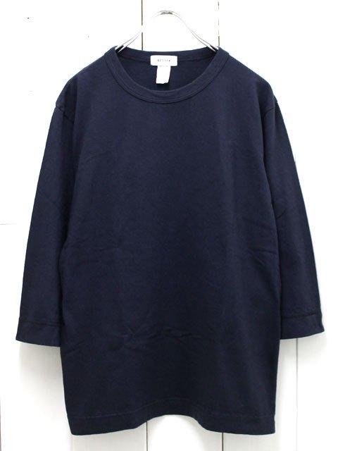 BETTER【ベター】クルーネック 7分袖tシャツ