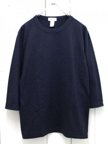 BETTER(ベター) クルーネック 7分袖tシャツ (BTR1603T)