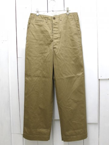 orslow(オアスロウ) <br>VINTAGE FIT ARMY TROUSER UNISEX (03-V5361-40)