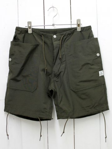 SASSAFRAS(ササフラス)<br>FALL LEAF OVER PANTS 60/40 / OLIVE (SF161171)