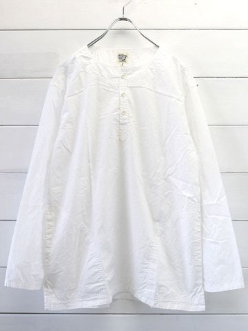 orslow (オアスロウ) PULLOVER SHIRTS / WHITE (03-8044-69)