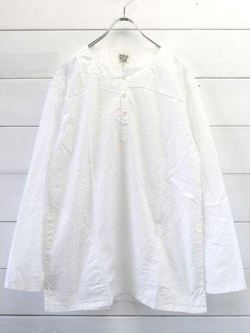 orslow (オアスロウ) PULLOVER SHIRTS / WHITE (03-8044-69)