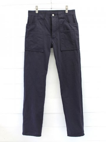 SASSAFRAS(ササフラス)<br>WEEDS PANTS C/N RIPSTOP 50/50 / NAVY (SF-171202)