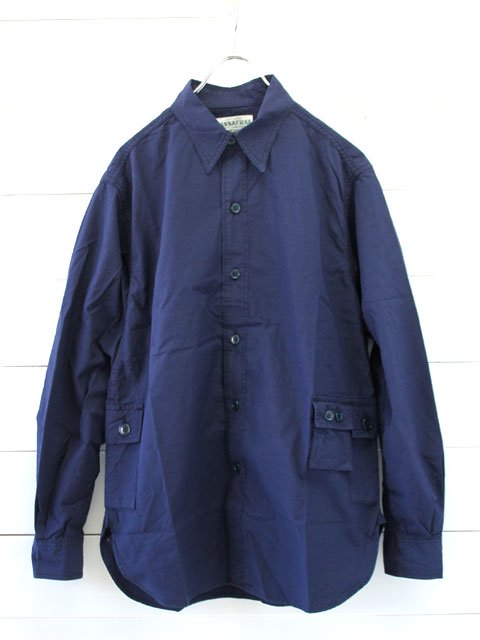SASSAFRAS(ササフラス) GDU SHIRT RIPSTOP / NAVY (SF-171190)