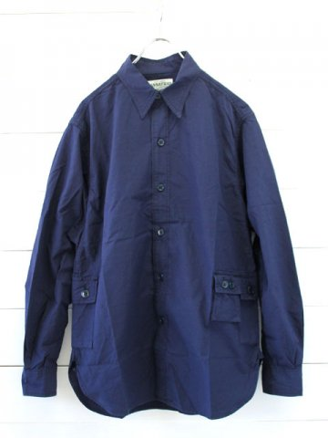 SASSAFRAS(ササフラス)<br> GDU SHIRT RIPSTOP / NAVY (SF-171190)