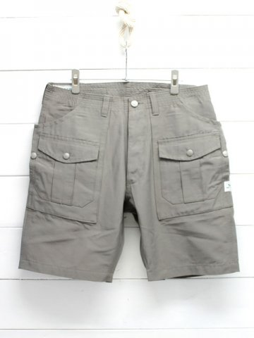 SASSAFRAS(ササフラス)<br>BOTANICAL SCOUT PANTS 1/2 60/40 GRAY (SF-161107)