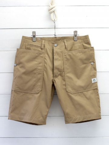 SASSAFRAS(ササフラス)<br> FALL LEAF SPRAYER PANTS 1/2 GABARDINE BEIGE (SF-171231)