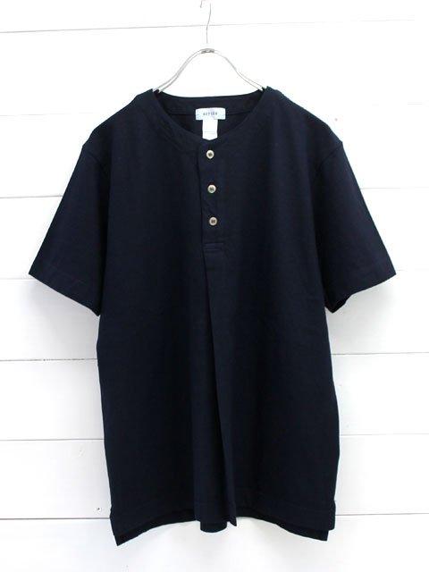 BETTER(ベター) ヘンリーネック 半袖tシャツ (BTR1718)