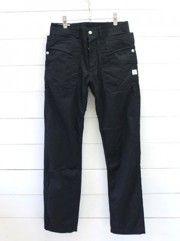 SASSAFRAS(ササフラス)<br> FALL LEAF SPRAYER PANTS  GABARDINE NAVY (SF-171241)