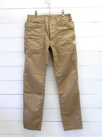 SASSAFRAS(ササフラス)<br> FALL LEAF SPRAYER PANTS  GABARDINE BEIGE (SF-171241)