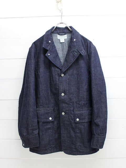 SASSAFRAS(ササフラス)FALL LEAF JACKET 10oz DENIM / INDIGO (SF-171250)