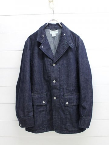SASSAFRAS(ササフラス)<br>FALL LEAF JACKET 10oz DENIM / INDIGO (SF-171250)