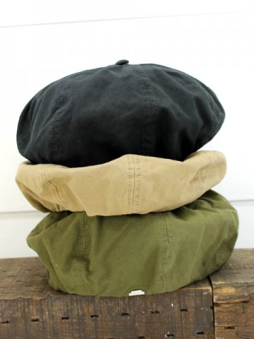 DECHO(デコー) <br>BERET -MILITARY CANVAS- TEXTILE (7TEX-MC01)