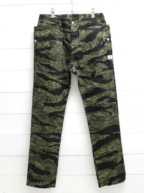 SASSAFRAS(ササフラス)FALL LEAF SPRAYER PANTS TWILL / TIGER (SF-171276)