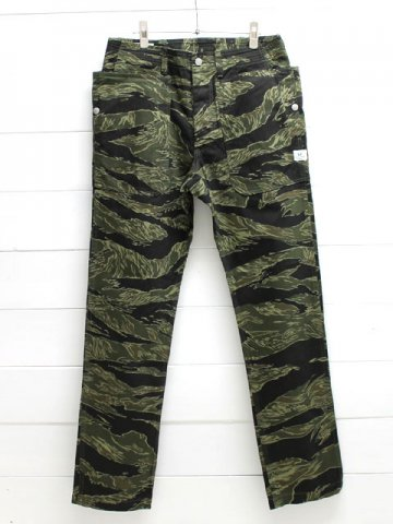 SASSAFRAS(ササフラス)<br>FALL LEAF SPRAYER PANTS TWILL / TIGER (SF-171276)