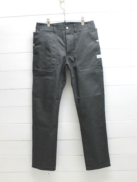 SASSAFRAS(ササフラス)FALL LEAF SPRAYER PANTS T/C CHINO / CHARCOAL (SF-171276)