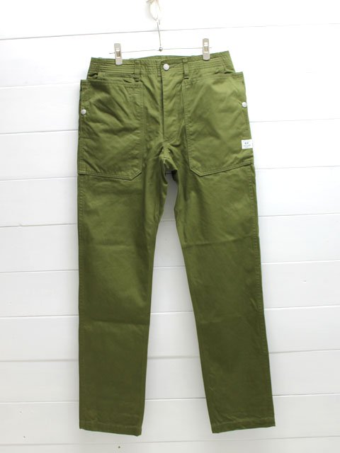SASSAFRAS(ササフラス)FALL LEAF SPRAYER PANTS VENTILE WEST POINT / OLIVE (SF-171276)