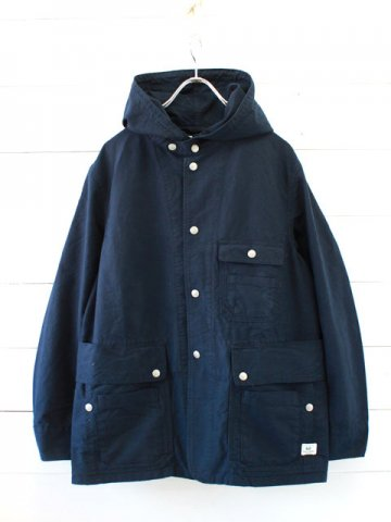SASSAFRAS(ササフラス)<br>SEEDS CARRY BUD JACKET OXFORD / NAVY (SF-181296)