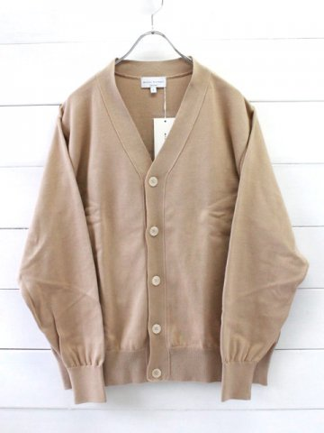 MANUAL ALPHABET (マニュアルアルファベット)<br>ALL TIME KNIT CARDIGAN (MA-K-012)
