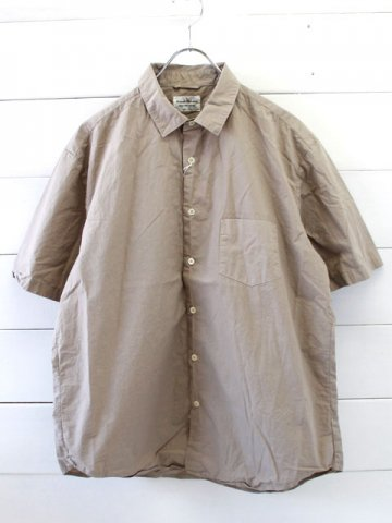 MANUAL ALPHABET(マニュアルアルファベット)<br>LOOSE FIT REGULAR COLLAR S/S SHT (MA-S-323)