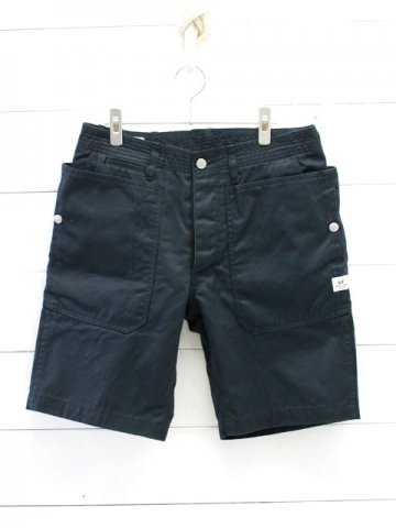 SASSAFRAS(ササフラス)<br>FALL LEAF SPRAYER PANTS 1/2 WEST POINT / NAVY (SF-181329)