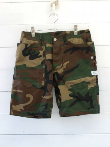 SASSAFRAS(ササフラス)<br>FALL LEAF SPRAYER PANTS 1/2 WEEDS POPLIN/WOODLAND(SF-181329)