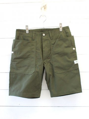 SASSAFRAS(ササフラス)<br>FALL LEAF SPRAYER PANTS 1/2 RIPSTOP / OLIVE (SF-181344)