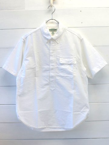 SASSAFRAS(ササフラス)<br>GREEN THUMB SHELL SHIRT 1/2 OXFORD WHITE (SF-181341)