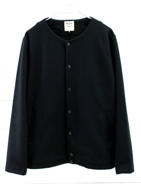 Jackman(ジャックマン) Jersey Collarless Jacket (JM7641)