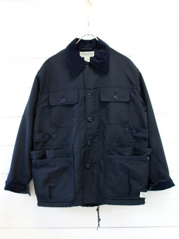 SASSAFRAS(ササフラス)<br>GARDEN HOLE JACKET 60/40 NAVY (SF-181368)