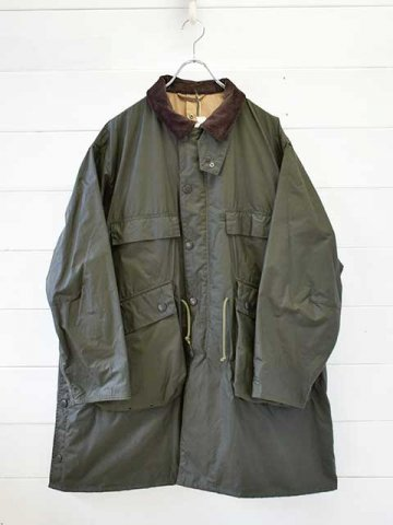 KAPTAIN SUNSHINE (キャプテンサンシャイン) <br>Kaptain Sunshine × Barbour Stand Collar Traveller Coat (KS8FBB01)